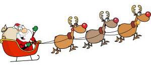 Деда Мраз и ирваси