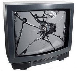 Разбијен ТВ